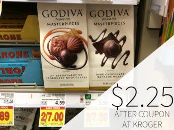 Godiva Masterpieces Just $