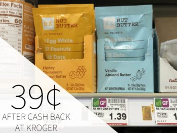 RX Nut Butter Just 39¢ At Kroger