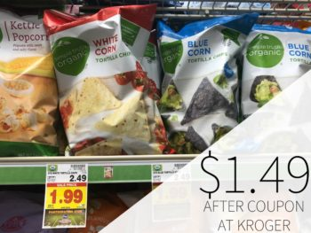 Simple Truth Organic Tortilla Chips Just $1.49 Per Bag At Kroger