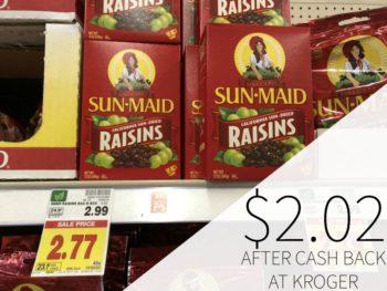 Sun-Maid Raisins As Low As $2.02 At Kroger