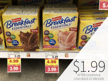 Carnation Breakfast Essentials Only $1.99 At Kroger