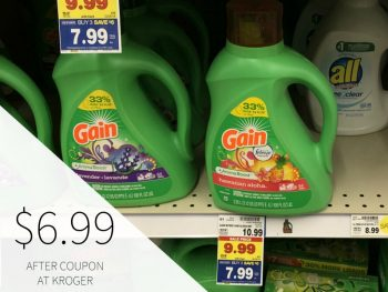 Gain Laundry Detergent Just $6.99 At Kroger