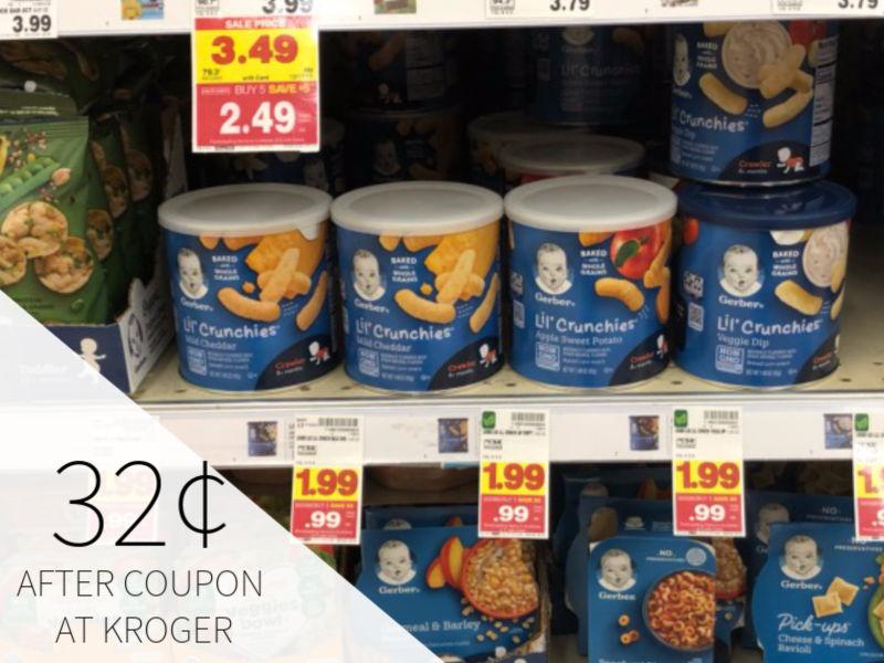 Gerber Snacks As Low As 32¢ During The Kroger Mega Sale