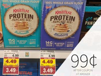 Krusteaz Protein Pancake Mix 1