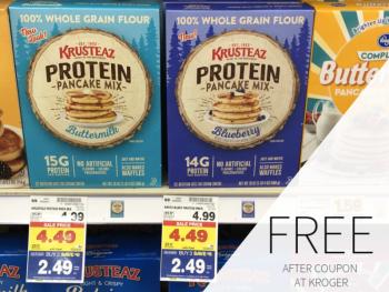 FREE Krusteaz Protein Pancake Mix At Kroger