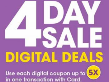 Load Your Coupons For The 4 Days Of Digital Deals (Valid 12/27 to 12/30)