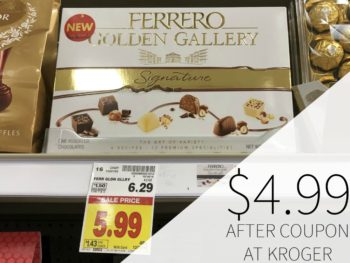 Ferrero Golden Gallery Just $4.99 At Kroger 1