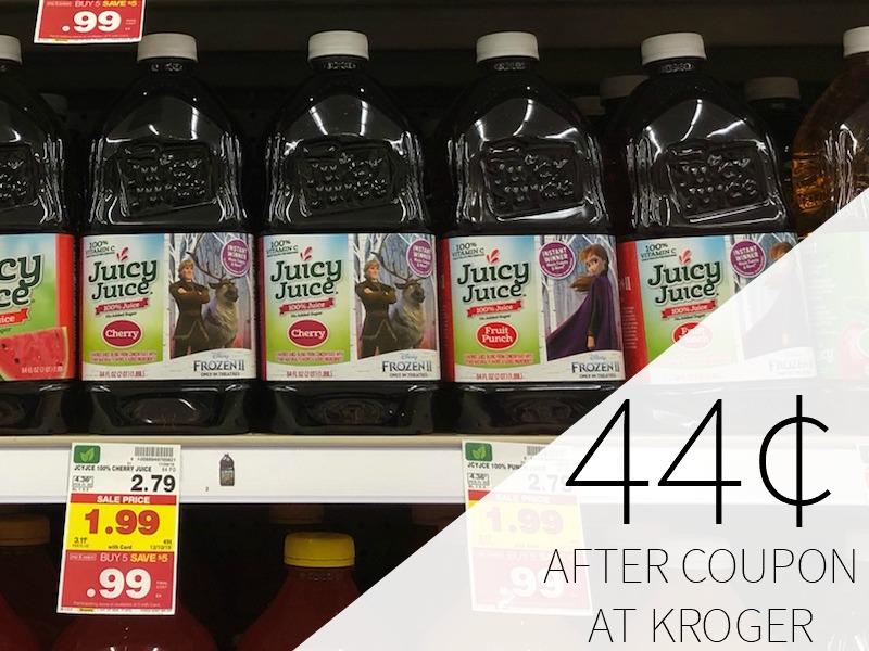 Juicy Juice As Low As 44¢ At Kroger