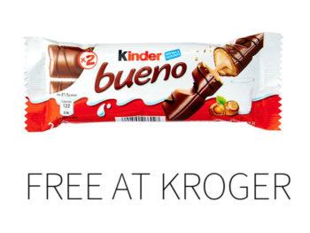 Kroger Free Friday Download - Kinder Bueno 2