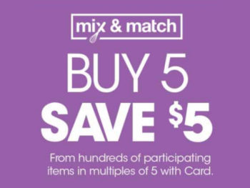 Kroger What A Deal! Buy 5, Save $5 Mega Sale Full Inclusion List (Valid 12/4 - 12/17)