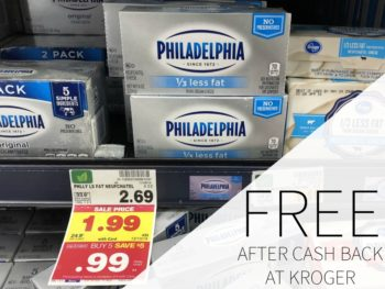 Philadelphia Cream Cheese Is FREE Again At Kroger 1
