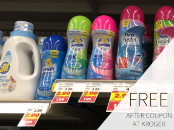 Snuggle Fabric Softener Just 99¢ At Kroger 1