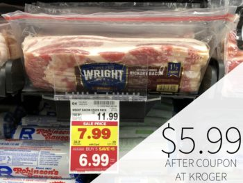 Wright Bacon Just $5.99 At Kroger