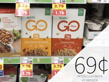 Kashi Cereal Just 69¢ At Kroger