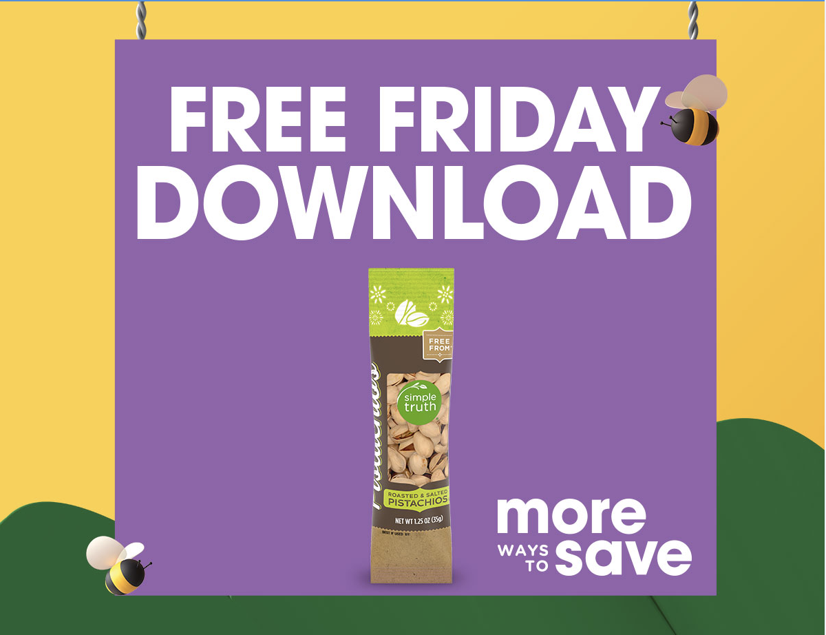 Kroger Free Friday Download - No Cow Protein Bar 1