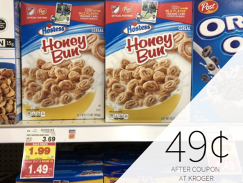 Post Cereal As Low As 49¢ During The Kroger Mega Sale