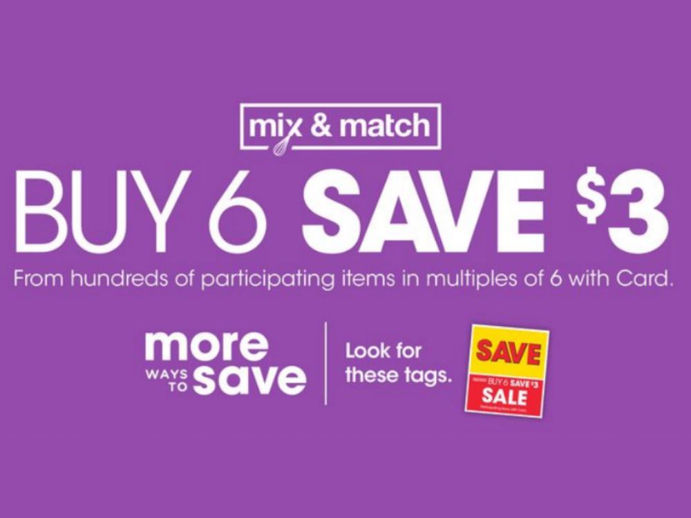 Kroger What A Deal! Buy 5, Save  Mega Sale Full Inclusion List (Valid 12/26 - 1/7)