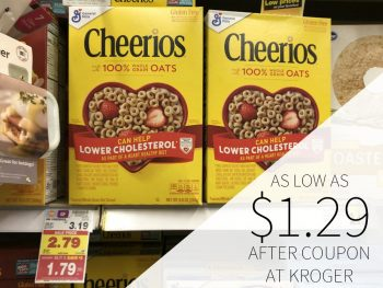 General Mills Cereal As Low As $1.29 At Kroger 2