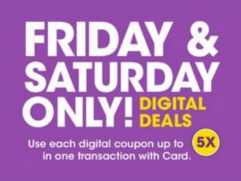 Load Your Coupons For The 2 Days Of Digital Deals (Valid 1/3 to 1/4) 1