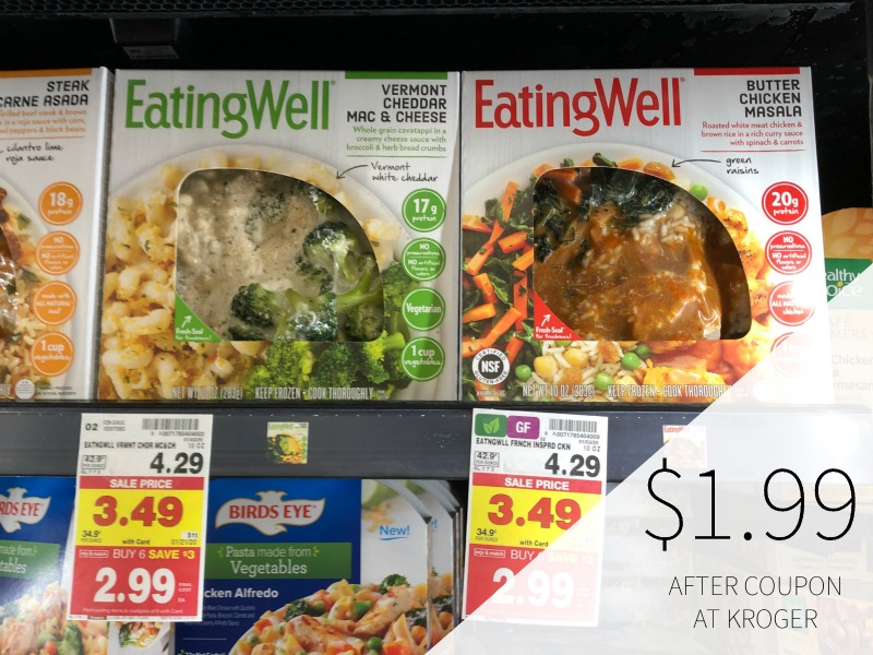 Eating Well Frozen Entree Just $1.99 At Kroger