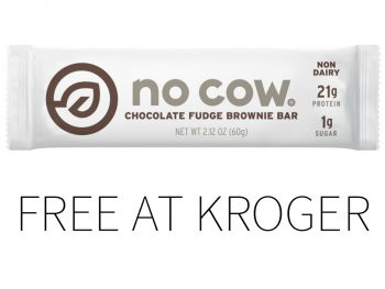 Kroger Free Friday Download - No Cow Protein Bar