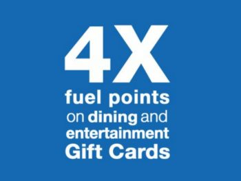 4x Kroger Fuel Points When You Buy Gift Cards (Coupon Valid Through 12/10)