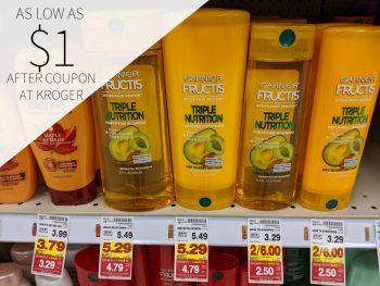 Garnier Fructis Hair Care As Low As $1 At Kroger