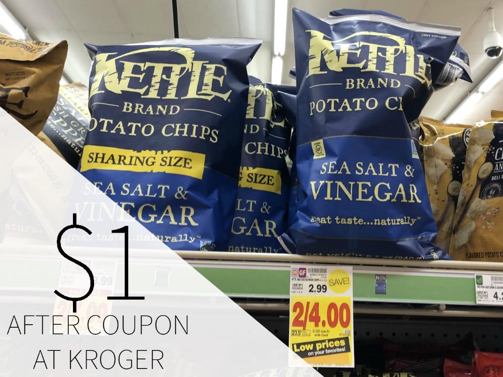 Kettle Brand Potato Chips Just $2 At Kroger 1