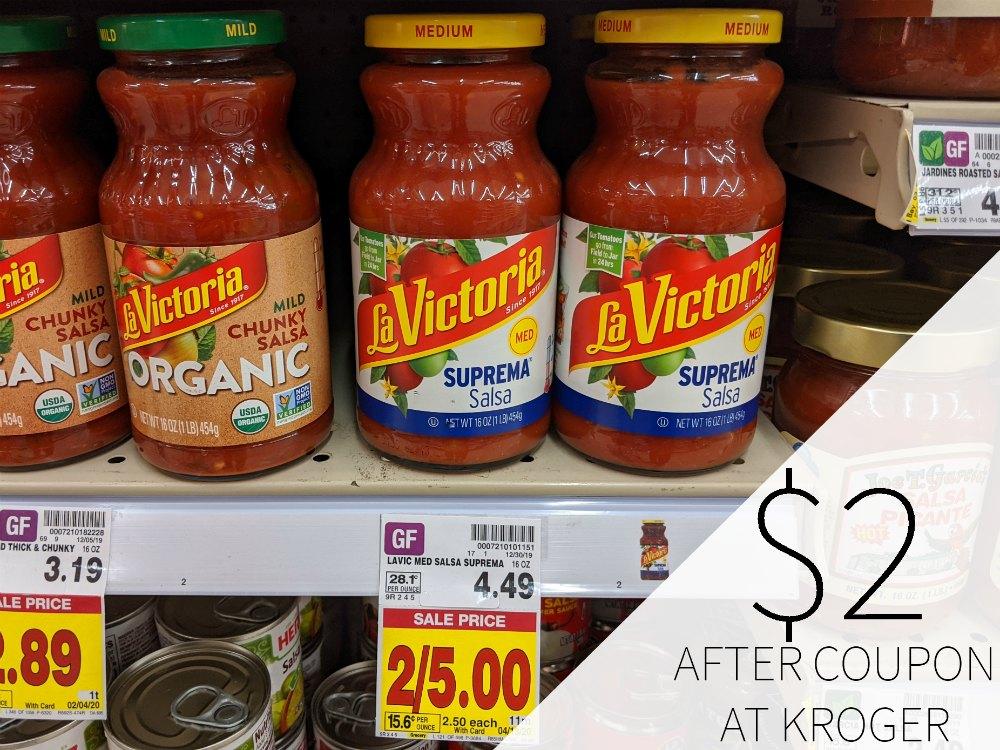 La Victoria Salsa Just $2 Per Bottle At Kroger