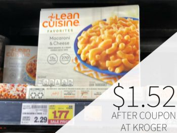 Lean Cuisine Entrees Just .52 Each At Kroger