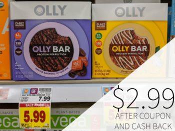 Olly Bars Just $2.99 At Kroger
