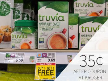 Truvia Sweetener As Low As 35¢ Per Box At Kroger