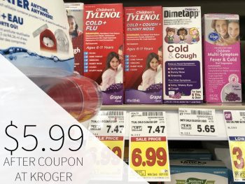 New Tylenol Coupon - Children's Cold + Flu Just $5.99