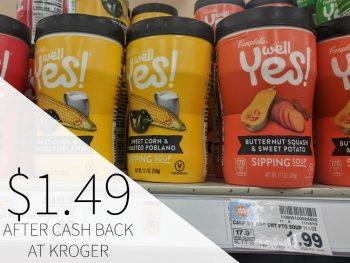 Campbell's Well Yes! Soup As Low As $1.49 At Kroger