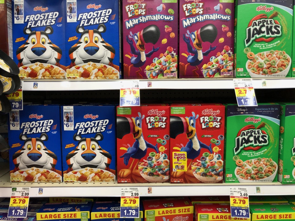 Kellogg's Cereal Only $1.29 Per Box At Kroger 1
