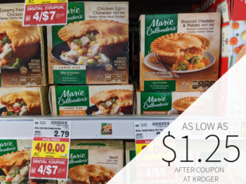 Marie Callender's Pot Pie Only $1.25 At Kroger