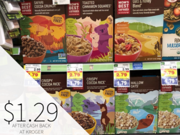 Mom's Best Cereal Just $1.54 At Kroger - Almost Half Price
