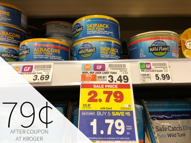 Wild Planet Tuna As Low As 49¢ During The Kroger Mega Sale 1