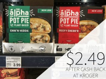 The Alpha Pot Pie Just $2.49 At Kroger