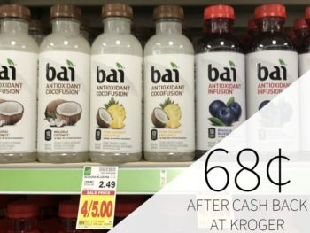 Bai Beverages Just 68¢ Each At Kroger - Sale Ends Today