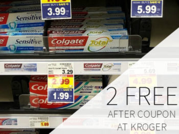 Colgate Toothpaste FREE AT Kroger