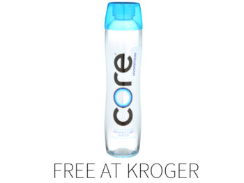 Kroger Free Friday Download - FREE Core Hydration Water