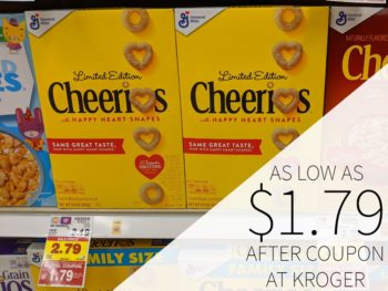 General Mills Cereals As Low As $1.79 At Kroger