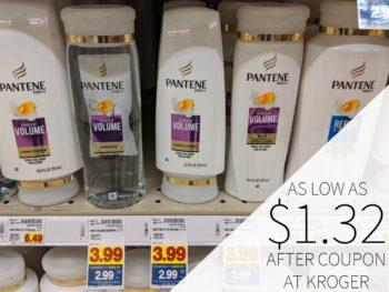 Pantene Shampoo or Conditioner Just $1.32 Per Bottle At Kroger 1