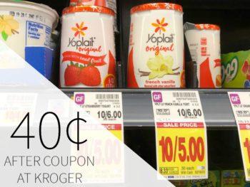 Yoplait Yogurt Just 40¢ Each At Kroger