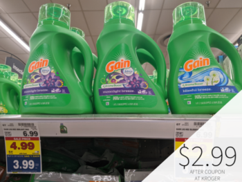 Gain Products Only $2.99 During The Kroger Mega Sale