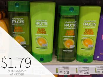 Garnier Fructis Hair Care Just $1.79 At Kroger
