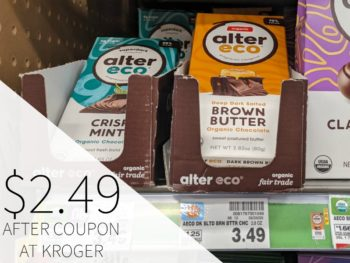 Alter Eco Chocolate Just $2.49 At Kroger