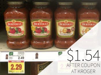 Bertolli Pasta Sauce Just $1.54 At Kroger