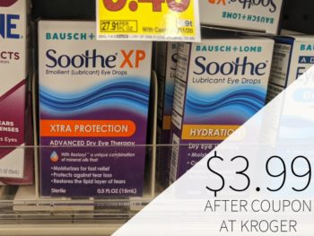 Bausch+Lomb Soothe Eye Drops Just $3.99 At Kroger